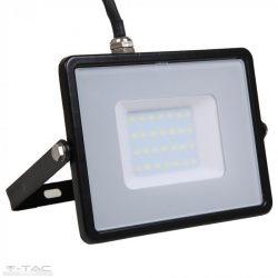 30W LED reflektor Samsung chip fekete 4000K - PRO401