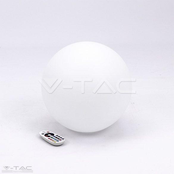 RGB LED-es díszgömb fehér 30 cm IP67 - 40161
