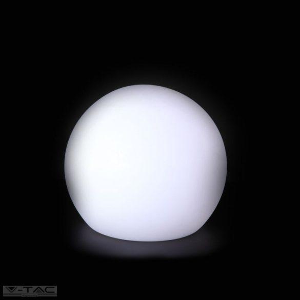 RGB LED-es díszgömb fehér 40cm IP67 - 40201
