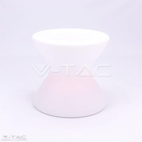 RGB LED-es kerti zsámoly fehér IP54 - 40231