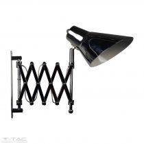 Retro ollós harmónika lámpa króm - 40431
