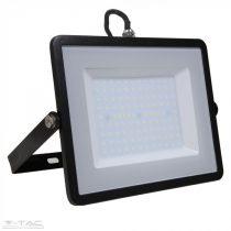 100W LED reflektor Samsung chip fekete 3000K - PRO412