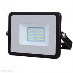 20W LED reflektor Samsung chip fekete 3000K - PRO439