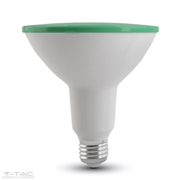 LED izzó - 15W PAR38 E27 IP65 Zöld - 4418