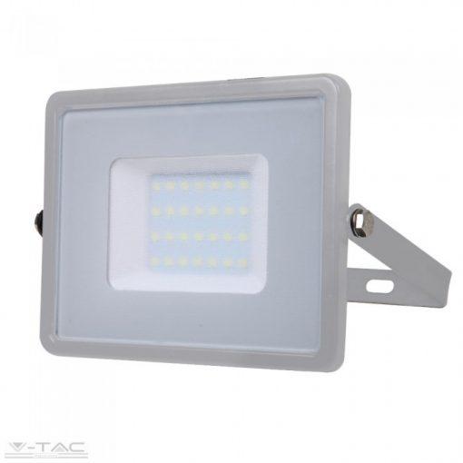 30W LED reflektor Samsung chip szürke 4000K - PRO455