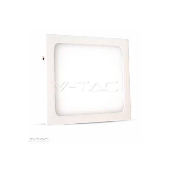 12W Felületre szerelhető négyszög LED Panel 6400K - 4915
