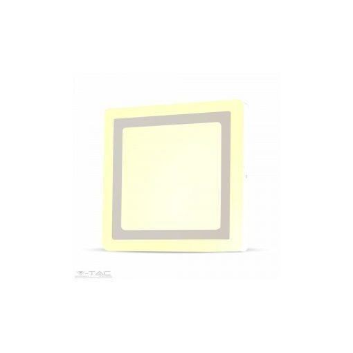12W+3W Felületre szerelhető négyszög LED Panel 3000K - 4925