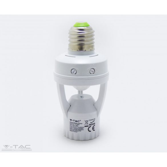 E27 foglalat beépített infravörös mozgásérzékelővel - 4982