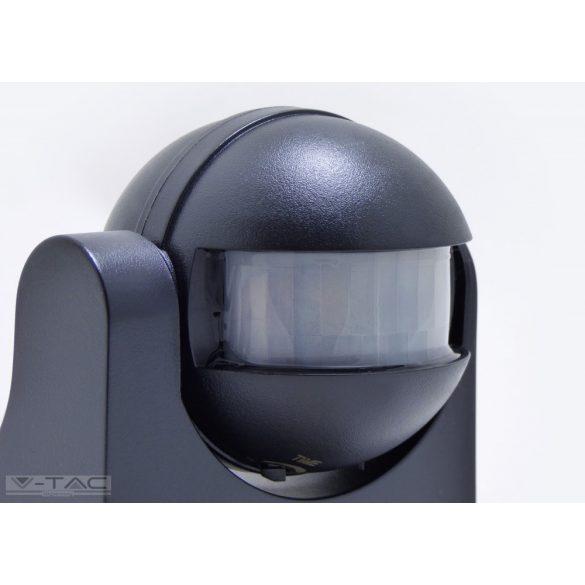 Infravörös Fali mozgásérzékelő fekete IP44 - 5077
