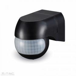 PIR Infravörös Fali mozgásérzékelő fekete - 5089