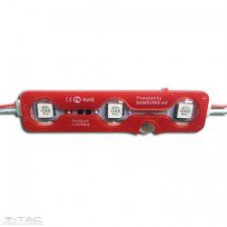 0,72W LED modul 5050 IP65 - Piros