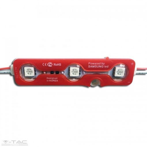0,72W LED modul 5050 IP67 Piros - 5117