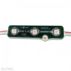0,72W LED modul 5050 IP65 - Zöld