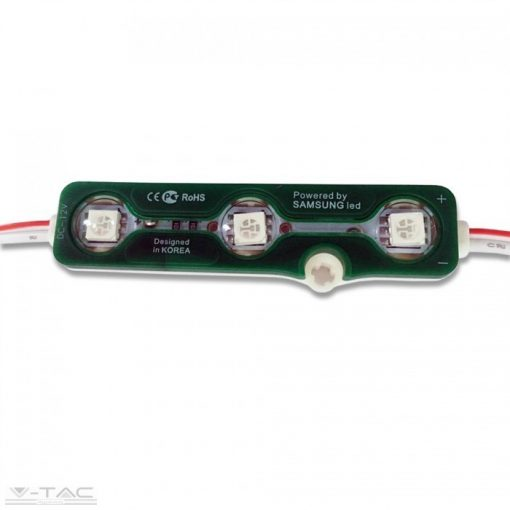 0,72W LED modul 5050 IP67 Zöld - 5119