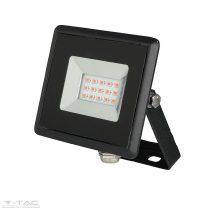 10W LED reflektor E-széria piros fényű - 5989