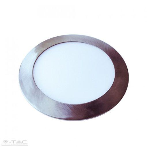24W Kör Slim LED Panel nikkel süllyeszthető 4000K - 6356