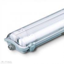 Vízálló lámpatest 2 x 18W 120 cm LED fénycsővel 4000K - 6387
