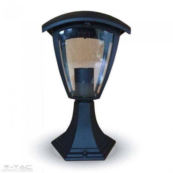 Fekete kültéri állólámpa E27 felfelé néző IP44 - 7057