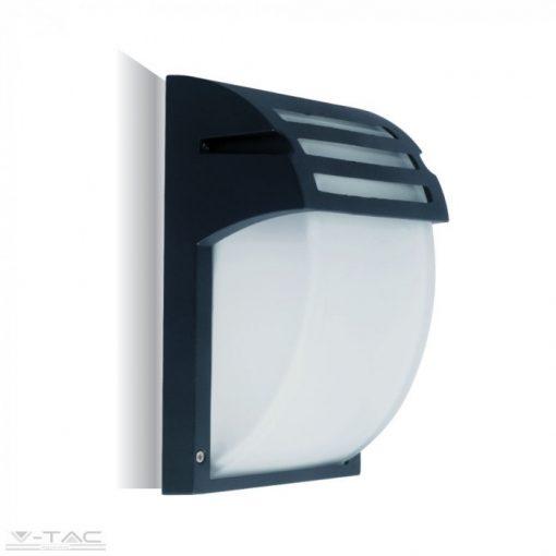 Fekete matt fali lámpa E27 foglalattal - 7076