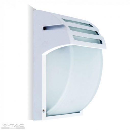 Fehér matt fali lámpa E27 foglalattal - 7077
