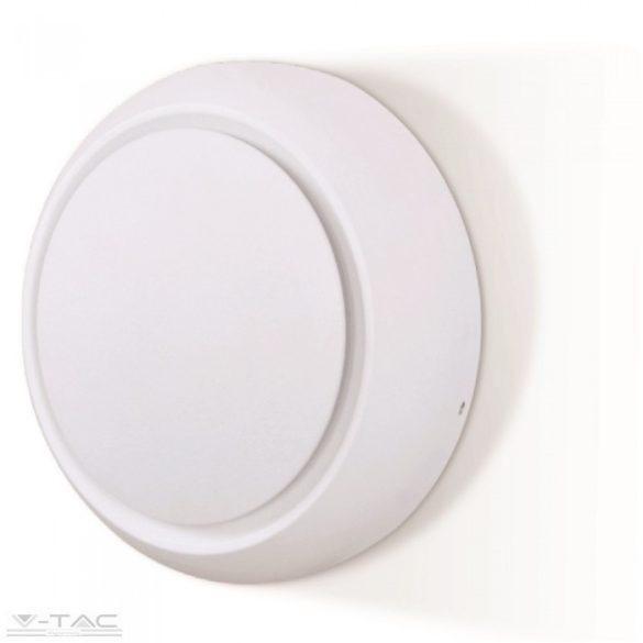 5W LED fali lámpa fehér forgatható kör 3000K - 7086