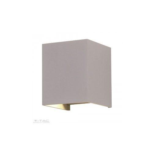 6W Szürke rejtett fali lámpa IP65 4000K - 7089