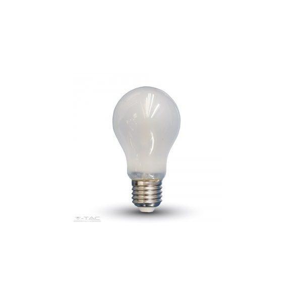 Retro LED izzó - 5W Opál Filament E27 A60 Hideg fehér 7180