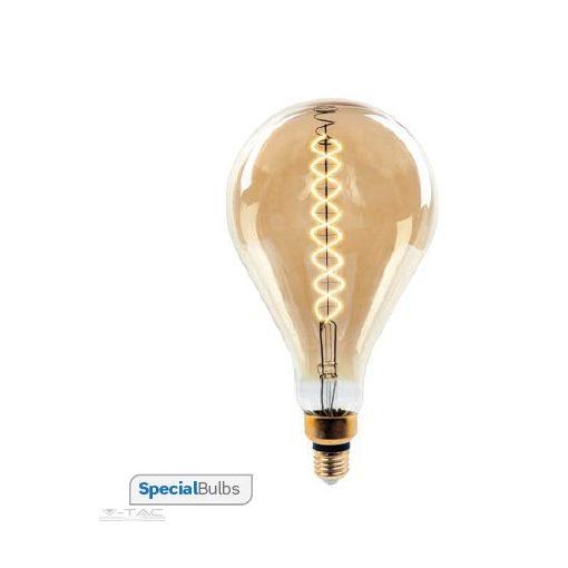 Dimmelhető 8W Retro LED izzó E27 A165 2000K - 7461
