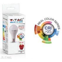 10W LED izzó CRI>95 E27 A60 2700K - 7479