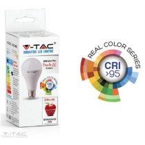 10W LED izzó CRI>95 E27 A60 4000K - 7480