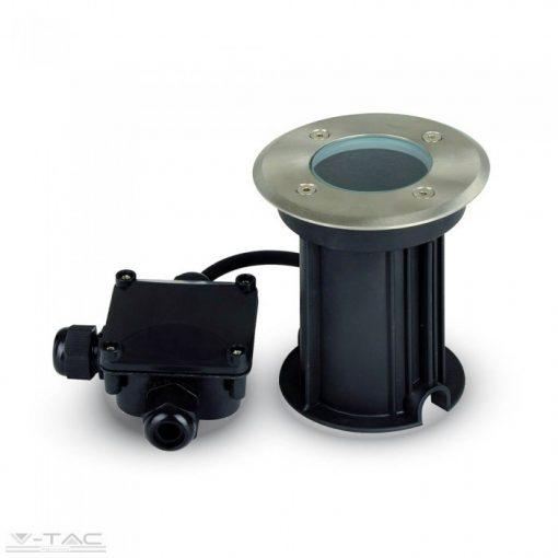 Földbe süllyeszthető kör fénytest foglalat GU10 230V - 7515