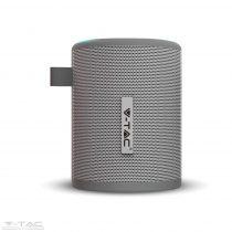 Hordozható bluetooth hangszóró szürke 1600mAh - 7720