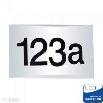 10W LED fehér házszám tábla Samsung chip 3000K - PRO780