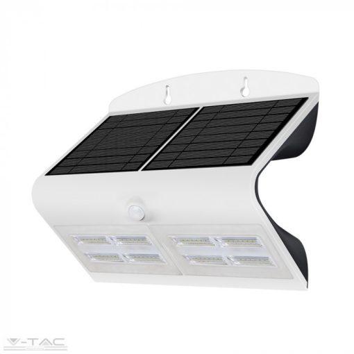 7W LED napelemes lámpa fehér - 8278