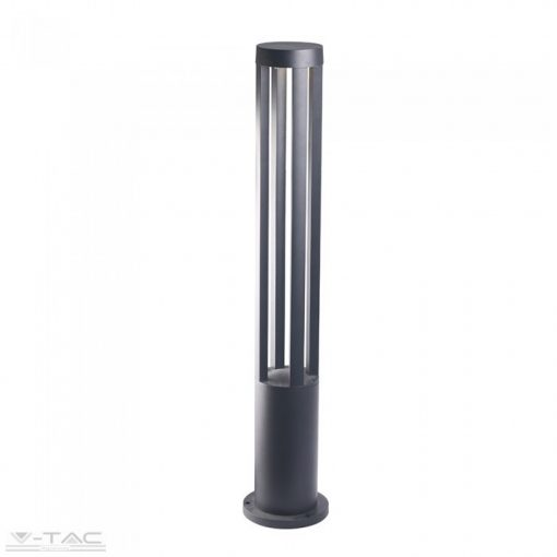 10W LED Kerti állólámpa 80 cm fekete 3000K - 8331