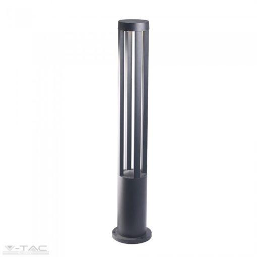 10W LED Kerti állólámpa 80 cm fekete 4000K - 8332