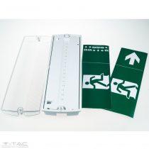 4W LED vészvilágítás Samsung chip IP65 Hideg fehér - PRO838