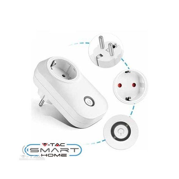 Wifis smart konnektor fehér - 8415