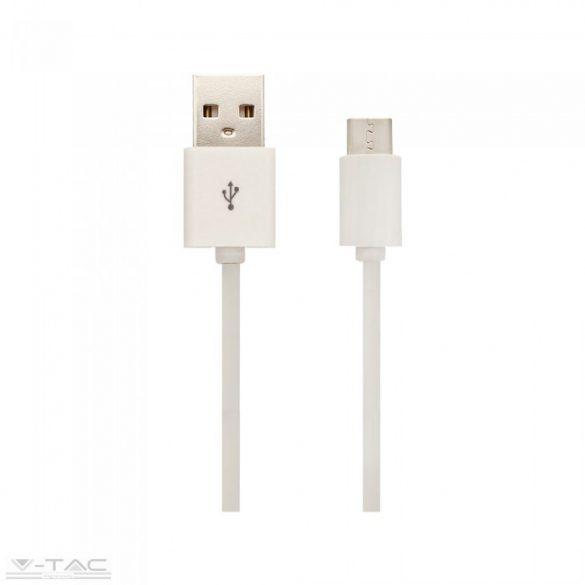 Micro USB C kábel 3m fehér - 8457