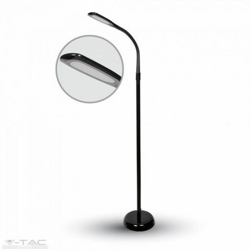 7W Fekete flexibilis álló lámpa - 8508