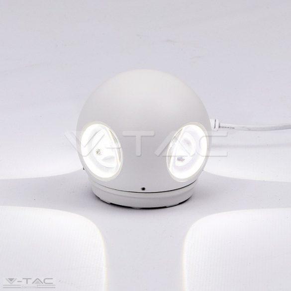 4W LED design gömb fali lámpa fehér IP65 3000K - 8551