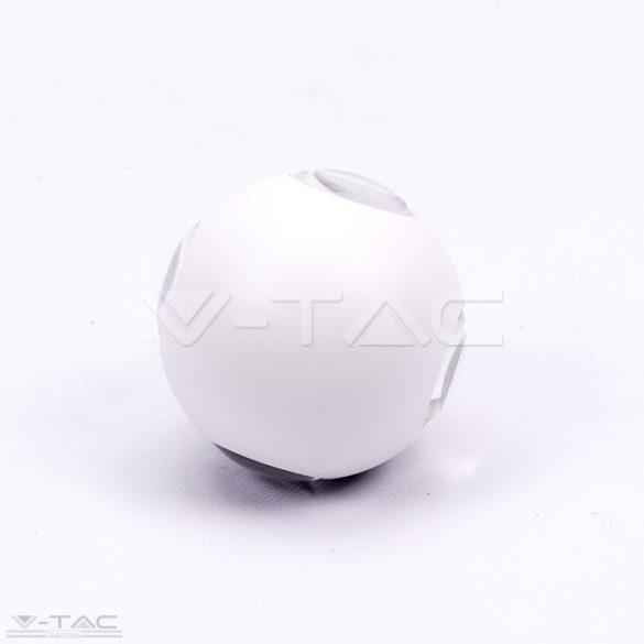 4W LED design gömb fali lámpa fehér IP65 4000K - 8552