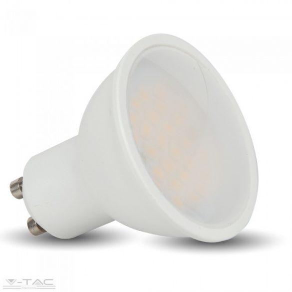 10W LED spotlámpa GU10 opál Meleg fehér 110° - PRO878