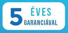 5év garancia
