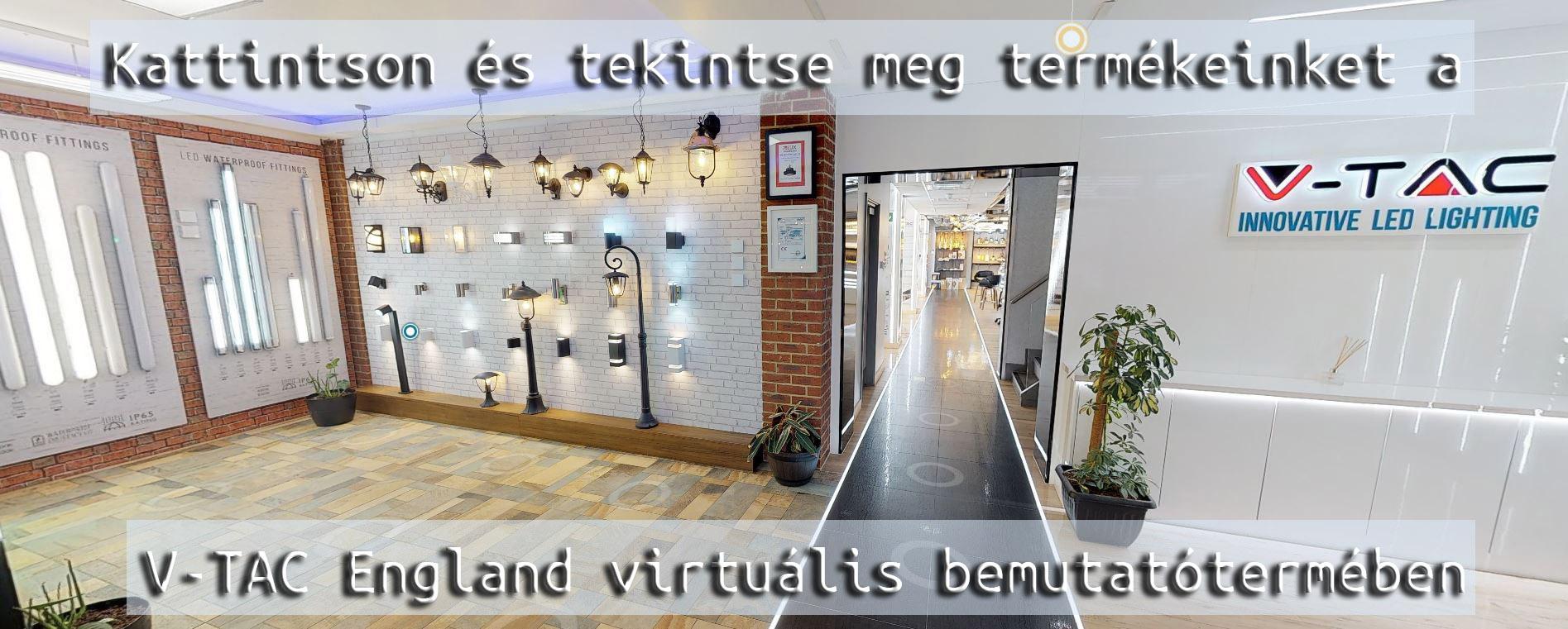 V-TAC virtuális bemutatóterem